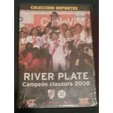 Dvd Original River Campeon Clausura 2008