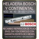 Plaqueta Bosch / Continental Ksu 44 40 39 430 Reparacion