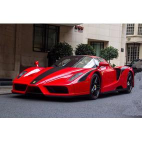 Projeto Ferrari Enzo Para Montar Carroceria Em Tamanho Real