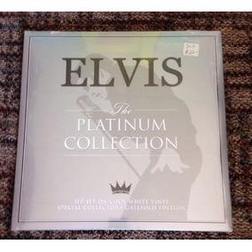 Elvis Presley - The Platinum Collection Vinyl (3 X Lp White)