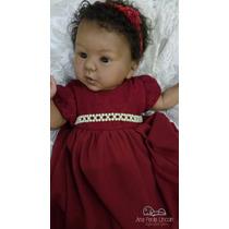 Bebê Reborn Negra
