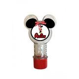 50 Lembrancinha Tubo Tubete Mickey Minnie Aniversário