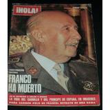 Muerte De Franco / Revista Hola Número Especial