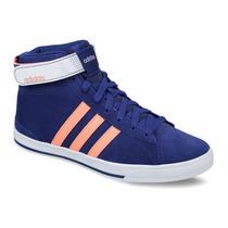 Zapatillas Botitas Adidas Neo Daily Twist Mid W Azul