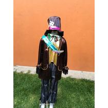 Sombrerero Loco Disfraz Halloween Envío Gratis