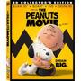 Blu-ray Peanuts Movie / Snoopy & Charlie Brown 3d + 2d + Dvd