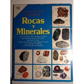 Un Libro De Oro De Estampas Rocas Y Minerales Num 34 Novaro