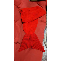 Manta Crochet Sirena