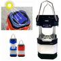 Lampiao Luminaria Led Carrega A Luz Solar Bateria E A Pilha