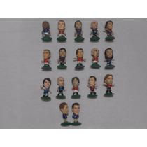 Lote Figuras Futbol Micro Stars Corinthian Kabezones