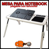 Mesa Plegable Para Notebook Y Netbook Con Fan Cooler