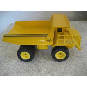 Juguete Camion Volteo, Metalico A Escala 1:55 En Su Caja