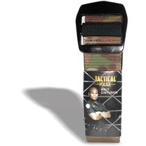 Cinturon Tactico Tactical Police Camuflaje Repelente