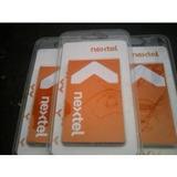 Chip Prepago Nextel Activo Listo Para Usar Con Tu Radio I418