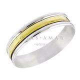 Par Alianzas Plata Y Oro Compromiso Casamiento Con Grabado