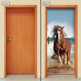 Adesivo Decorativo De Porta - Cavalo - 271mlpt