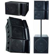 Sistema Line Array E-sound Ml-10 400w - Das - Electro - Aero