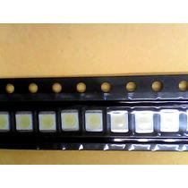 Lote 10 Peças Led Branco Smd 2835 1w 3 Volts Backlight Tv Lg