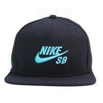Boné Nike Sb Snapback Icon Pro - Azul/ciano