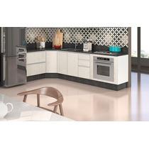 Armário De Cozinha Com 04 Balcão Modulado 100% Mdf - Nicioli