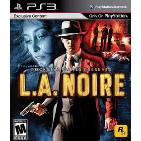 Jogo L.a Noire Playstation 3 Ps3 Mídia Física Frete Grátis