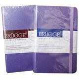 Libreta Explora Small, By Brügge. Colores Varios. (violeta,