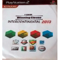 Winning Eleven Intercontinental 2013 Playstation 2 Dvd Patch
