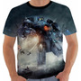 Camiseta Pacific Rim - Circulo De Fogo - Movies