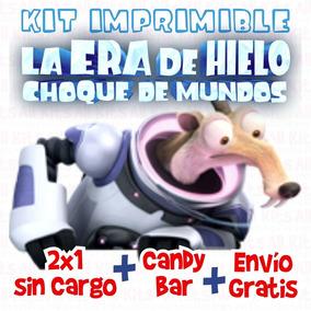 Kit Imprimible La Era De Hielo 5, Choque De Mundos. Nuevo!!!