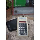 Retro Calculadora Norman 651 Led Rojo Funciona (6011)
