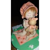 Muñeca Sara Kay En Porcelana Fría Para Torta