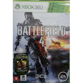 Battlefield 4 Xbox 360 Novo Lacrado Envio Imediato