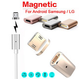 Conector Adaptador Magnetico P/ Cables Android Lg Micro Usb