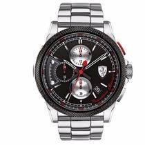 Relógio Scuderia Ferrari Masculino Aço - 830317 - Original