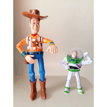 Boneco Articulado Woody Toy Store 24 Cm Luz Led Com Som