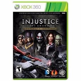 Injustice Gods Among Xbox 360 Midia Fisica Lacrado Dgh Games