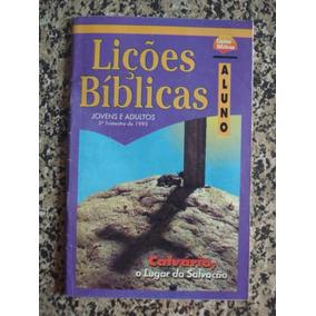 Revista Aluno Escola Dominical 2º Trimestre 1995 # Cpad
