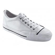 Zapatillas Topper Profesional Cuero Plus Ii Blancas