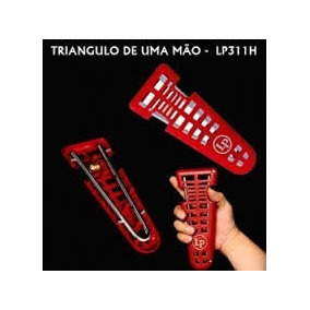Triangulo Latin Percurssion One Handed Lp311h Oferta