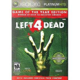 Left 4 Dead Game Of The Year Extras Mídia Física Xbox 360