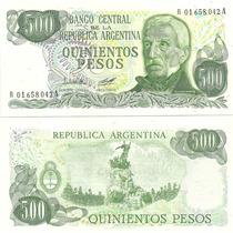 Billete 500 Pesos Ley Reposicion Sin Circular Bottero 2431a