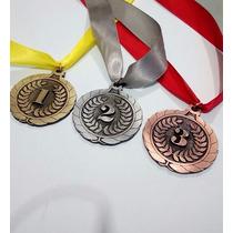 Medalla De Lujo Para Premiación 1o.2o Y 3er Lugar (026)
