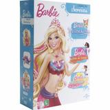 Box Dvd Barbie - Coleção Sereias - Trilogia (3 Dvds)