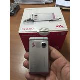 Aparelho Celular Sony Ericsson W 380 Prata C/rosa