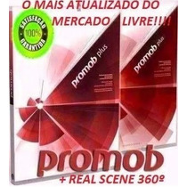 Novo! Dvd Promob Plus Real Scene 2016 360° + Render Up+ Cut!