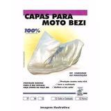 Capa De Proteção Para Moto Bezi 100% Impermeável E
