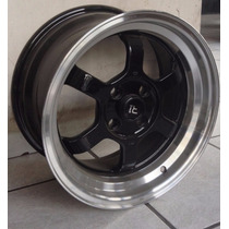 Rin 15 4-100 Progresivos Vw Caribe Atlantic Golf Jetta!!!