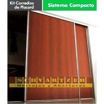 Kit Para Armar Placard Compacto De 3.00 Metros
