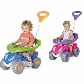 Andador Calesita Auto Pata Pata Cuatriciclo Para Nene Y Nena