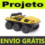 Projeto Carro Anfíbio 6x6 Kart Cross Buggy Passo A Passo